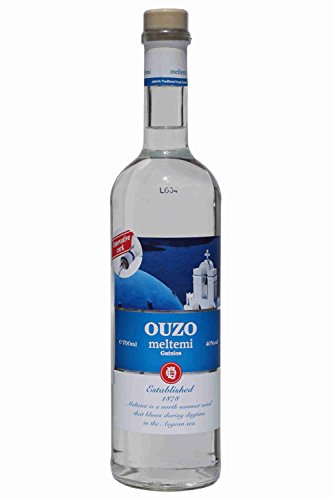 Ouzo-Meltemi-700ml-40-Gatsios-griechischer-Uso-Ouxo-Tresterbrand-Trester-Schnaps
