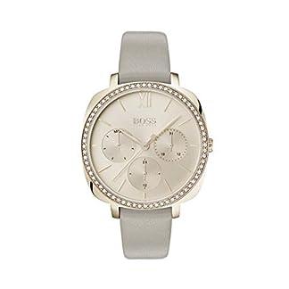 Hugo-Boss-Damen-Multi-Zifferblatt-Quarz-Uhr-mit-Leder-Armband-1502487