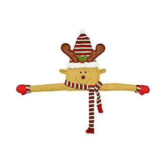 Toyvian-Weihnachtsbaumspitze-Christbaumspitze-Baumspitze-Plsch-Schneemann-Weihnachtsmann-Rentier-Weihnachten-Figuren-Baumschmuck-Spitze-Weihnachtsstern-fr-Weihnachtsbaum-Deko