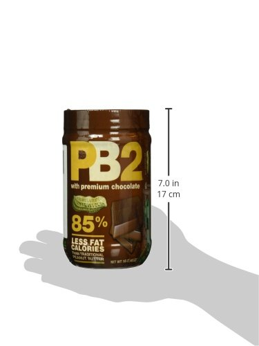 Bell Plantation PB2 Peanut Butter (Powdered) Chocolate, 1er Pack (1 x 454 g)