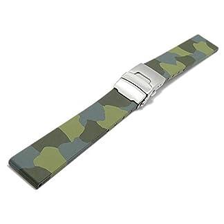 Meyhofer-Uhrenarmband-Emden-20mm-grn-Camouflage-Kautschuk-mit-Faltschliee-MyBnskc1420mmgruenoNFS