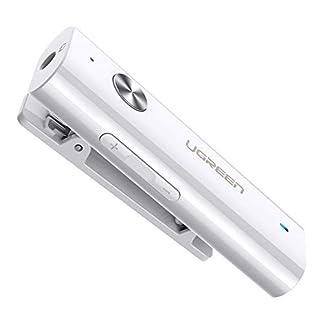 UGREEN-Bluetooth-Receiver-Clip-50-Bluetooth-Empfnger-Kopfhrer-35-mm-Klinke-Bluetooth-Adapter-Untersttzt-fr-Kopfhrer-Headset-Auto-Lautsprecher-iPhone-11-Samsung-Note-10-usw