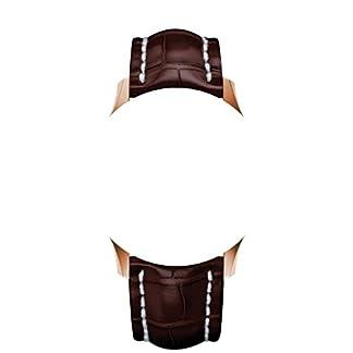 2220-mm-Trger-aus-Armbanduhr-Schwarz-SilikonKautschuk-Silber-Verschluss-an-Breitling-Uhren