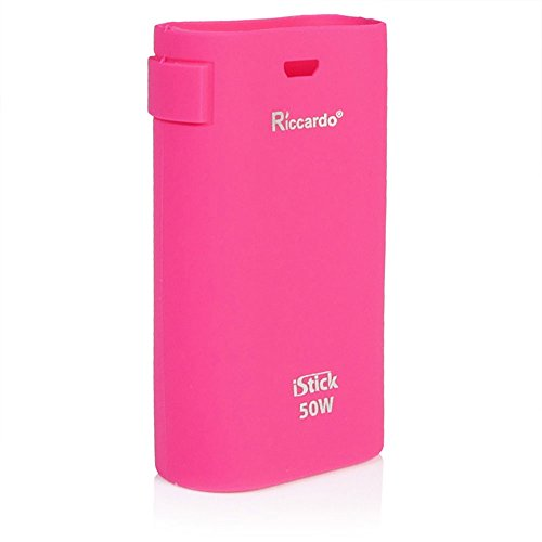 Riccardo iStick 50 Watt Schutzhülle aus Silikon Produced by Eleaf, pink, 1er Pack (1 x 1 Stück)