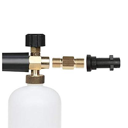 NHOUYAO-Hochdruckreinigungsschaum-Topfreinigung-14-Hochdruckreiniger-Krcher-K-K2-K3-K4-K5-K6-K7-Schnelladapter