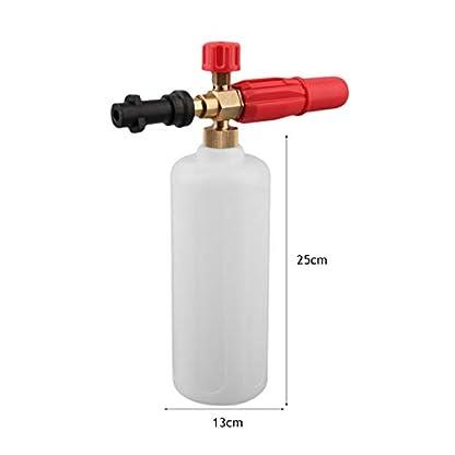 Bellaluee-Hochdruck-HD-Messing-Schaumpistole-mit-1L-Messflasche-Karcher-K-Serie-Fahrzeug-Auto-Waschmaschine-Kompatibel-Schnee-Foam-Lance