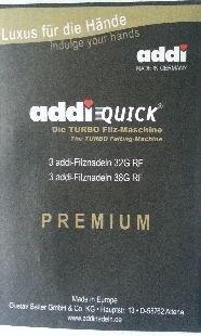 addi Quick Ersatznadeln für Turbo Filzmaschine 851-2