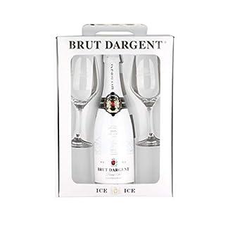 Brut-Dargent-Sparkling-ICE-Geschenkpaket-mit-2-Glsern-1-x-075-l