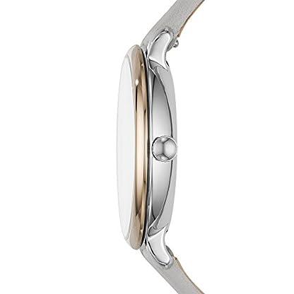 Fossil-Damen-Analog-Quarz-Smart-Watch-Armbanduhr-mit-Leder-Armband-ES4377