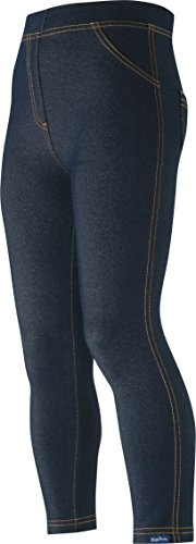 Playshoes Unisex Leggings Lang Jeans-Optik