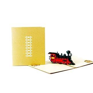 VIGE-3D-hohlen-geschnitzten-Weihnachtsbaum-Karte-Pop-Up-Karten-Baum-Schnitt-handgemacht-fr-Weihnachten-Winterurlaub