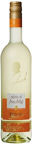 maybach riesling qba süß und fruchtig (6 x 0.75 l) | alles über wein