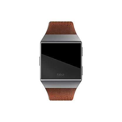 Fitbit-Ionic-Lederarmband-Cognac-L