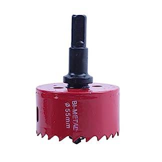 Cikuso-Dreieck-Schaft-Holz-Eisen-Schneiden-55mm-Durchmesser-Lochsaege
