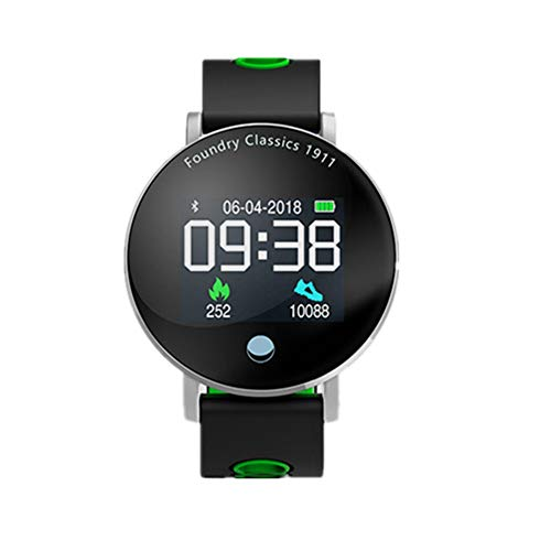 Directtyteam-Fitness-Armband-Farbbildschirm-Blutdruck-Wasserdicht-Unisex-Digitaluhren-Armbanduhr-Bluetooth-AktivitTstracker-Herzfrequenz-Fitness-Tracker-KalorienzHler