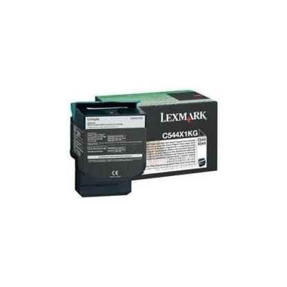 Lexmark-C544X1KG-C544-X544-Tonerkartusche-6000-Seiten-Rckgabe-schwarz