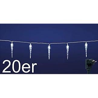LED-Lichterkette-mit-kalt-weien-beleuchteten-Eiszapfen-fr-Innen-und-Auen-geeignet-erweiterbar-um-2-Lichterketten