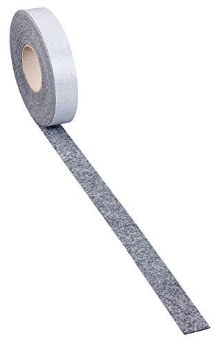 haggiy Filzband – Filzstreifen selbstklebend 'Slim' – 1,7 mm stark | Breite: 20 mm | Länge: 5m