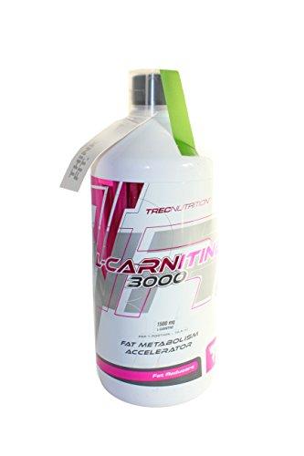 Trec Nutrition L-CARNITINE 3000, Karnitin – Geschmack – Kirsche, 1er Pack (1 x 500 g)