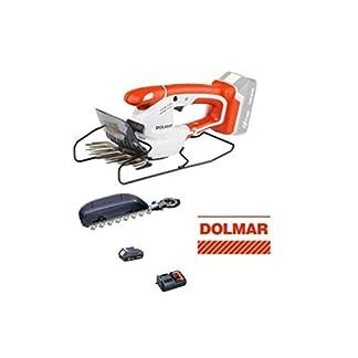 DOLMAR-Akku-Grasschere-AY1820LG-18-V-Akku-13-Ah-Ladegert-Strauchschere