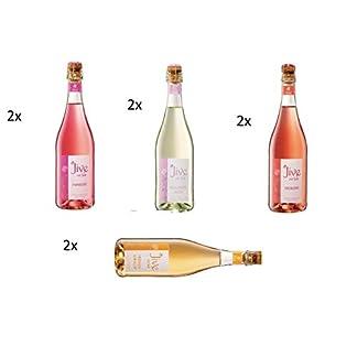 8-Flaschen-Jive-Mix-4-Sorten-Himbeere-Holunderblte-Erdbeere-Pfirsich-Maracuja-a-750ml