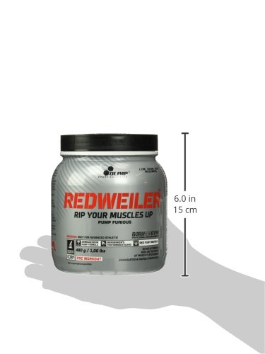 OLIMP Redweiler  Pre Workout 480 grams  Lime Crime