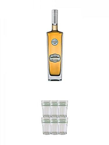 Velho-Barreiro-Cachaca-Diamond-07-Liter-Velho-Barreiro-Caipirinha-Glas-6-Stck