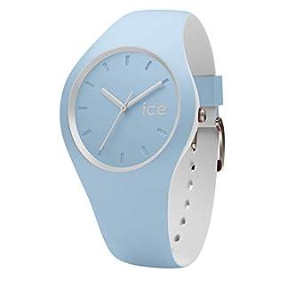 Ice-Watch-ICE-duo-White-sage-Blaue-Herrenuhr-mit-Silikonarmband-001489-Small