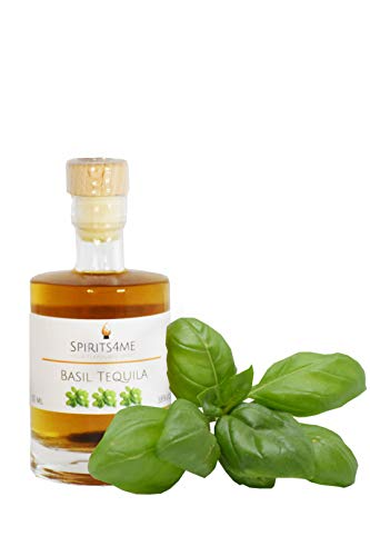 Basil-Tequila-Don-Diego-Tequila-silver-mit-frischem-Basilikum-aromatisiert-auergewhnlicher-Shot-005l-38-vol
