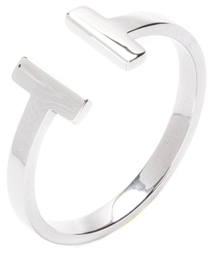 Happiness Boutique Damen Offener Wrap Ring in Silber | Titan Ring Minimalist Schmuck