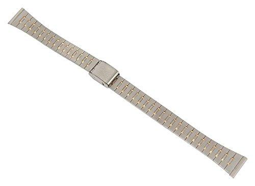Minott-Ersatzband-Uhrenarmband-Edelstahl-Band-Bicolor-mit-Schiebeverschlu-14mm-26876