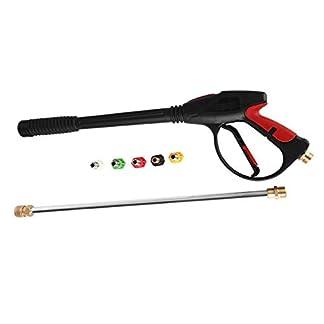 GreatFun-Hochdruckreiniger-Spritzpistole-4000-PSI-Spritzpistole-mit-5-Schnellkupplungsdsen-1-Stahlstab-Hochdruckreiniger-Spritzpistole-Hochdruck-Spritzpistole-mit-groer-Lanzenkapazitt