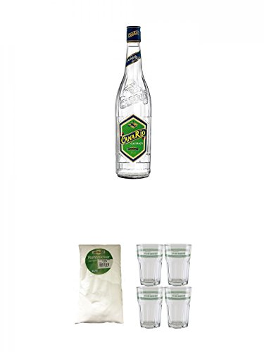 CanaRio-Cachaca-Superior-10-Liter-Sarkara-weier-Rohrzucker-fr-Cocktails-15-Kg-Velho-Barreiro-Caipirinha-Glas-4-Stck