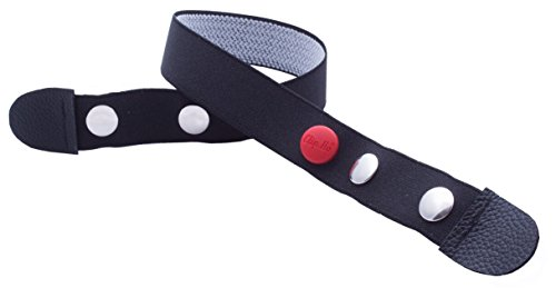 Clip.Ho – Der Gürtel ohne Schnalle, Elastischer Gürtel schwarz Gr. 74 – 182
