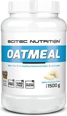 Oatmeal Instant Oats mit Hafer und Protein 1500g Superfood Premium Müsli, in verschiedenen Geschmacksrichtungen erhältlich, der leckere Energielieferant . (weiße Schoko, 1500g)