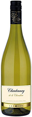 Chardonnay-de-La-Chevalire-2017-Laroche-trockener-Weiwein-franzsischer-Wein-aus-dem-Languedoc-1-x-075-Liter