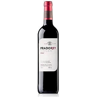 PRADOREY-Roble-Rotwein-Spanischer-Wein-Ribera-del-Duero-95Tempranillo-3-Cabernet-sauvignon-2-Merlot-Spontan-einsetzende-Grung-3-Monate-in-Fssern-aus-europischer-und-amerikanischer-Eiche-1-Flasche-075-
