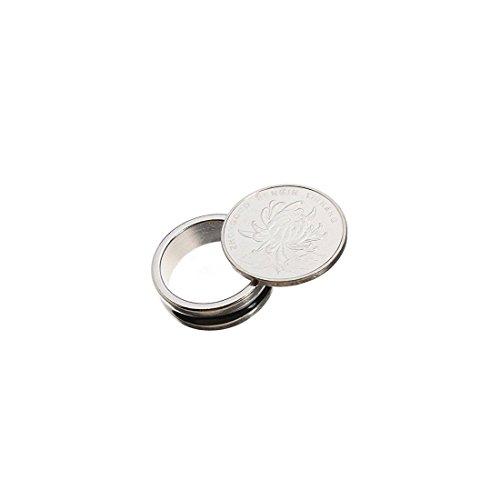 SODIAL (R) magischen Zaubertricks pro Ring PK starken Magnet mythischen Dekor Groesse 20MM