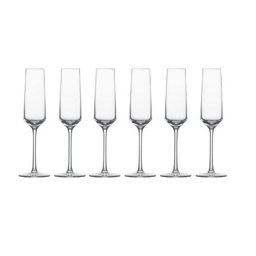 Schott-Zwiesel-Sektglas-mit-Moussierpunkt-7-6er-Set-Pure-Schaumwein-Form-8454-209-ml-112415