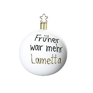 Inge-glas-Christbaumschmuck-Baumschmuck-Kugel-Frher-war-mehr-Lamette-Gre-8-cm-mundgeblasen