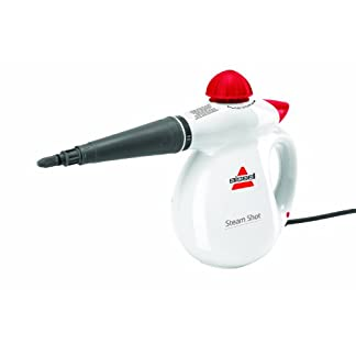 Bissell-Steam-Shot-Handgehaltener-Dampfreiniger-2635E-WeiRot