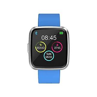 Bluetooth-Smart-Watch-Fitnessuhr-Touchscreen-Freisprecheinrichtung-Pulsmesser-Armband-Aktivitt-Bund