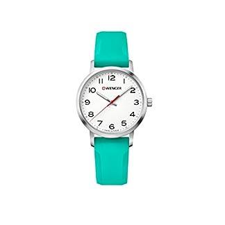 Wenger-Damen-Analog-Quarz-Uhr-mit-Silikon-Armband-011621108