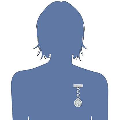 SEWOR-Medical-Staff-Blumenform-Band-zum-Aufhngen-Taschenuhr-2-mit-Deep-Blue-Marke-Leder-Box-tolles-Geschenk