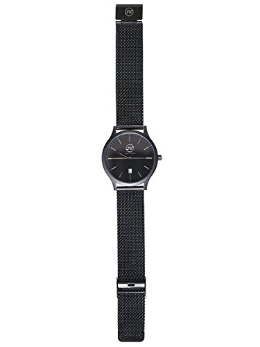 FRANZ-HANNA-Unisex-Armbanduhr-Analog-Quarz-Edelstahl-FH-9000