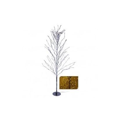 Lichterbaum-mit-150-cm-Hhe-mit-200-LED-in-warmweier-Farbe-schneebedeckte-Optik