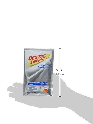 Dextro Energy IsoFast Red Orange / Hypotones Fitness-Getränkepulver mit Kohlenhydraten & Mineralstoffen für Ausdauersportler / 12 Beutel (12 x 56g)