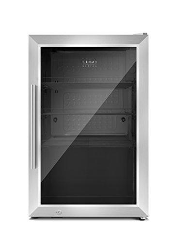 CASO-Barbecue-Cooler-Design-OutdoorBarbecue-Getrnkekhlschrank-mit-ca-63-Liter-Lagervolumen-Mini-Khlschrank-Edelstahlgehuse-Temperatur-von-0-10C-Energieklasse-A