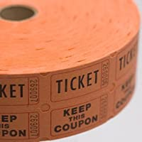 SALE-Orange-Double-Raffle-Ticket-Roll-SALE-by-Century-Novelty