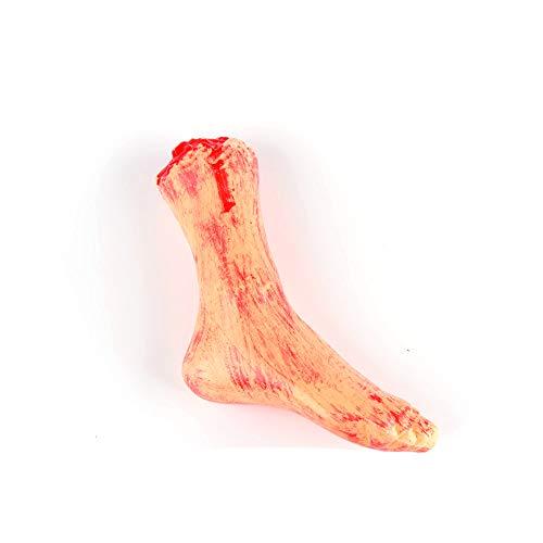 Horror-Bloody-Realistisch-Geflschter-Abgetrennter-Arm-Gebrochene-Hand-Fu-Beine-Krperteile-Streich-Trick-Aprilscherz-Halloween-Party-Requisiten-Gebrochener-Fu-1-PC
